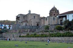 Blick auf die Compania de Jesus in Cusco