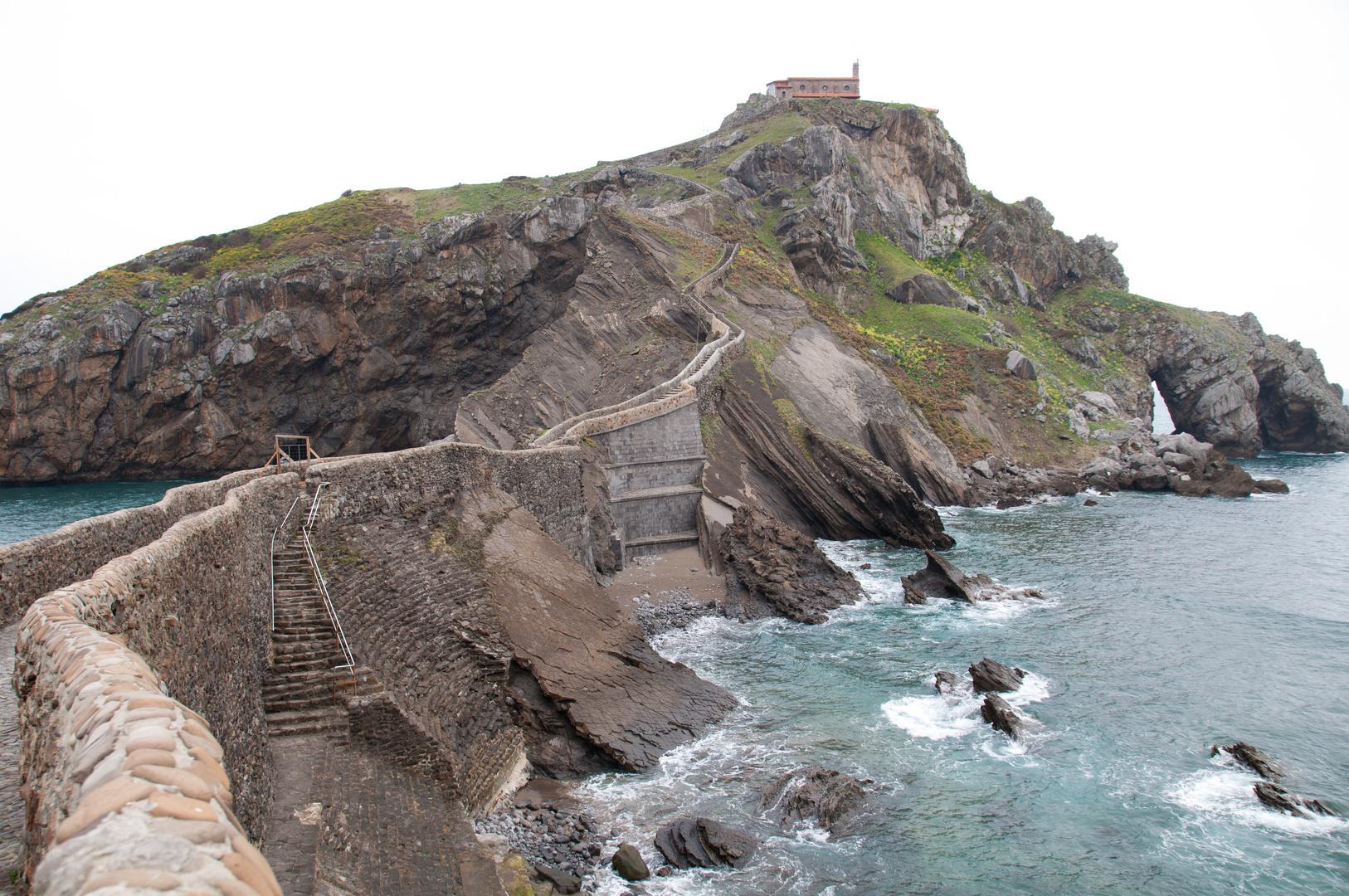 Blick auf die Ermita de San Juan de Gaztelugatxe