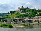 Blick auf die Festung in Würzburg