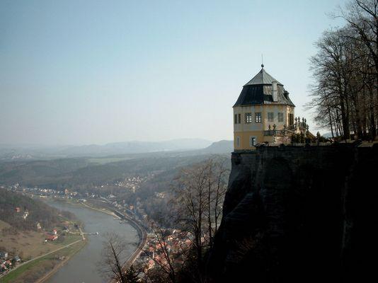 Blick auf die Friedrichsburg
