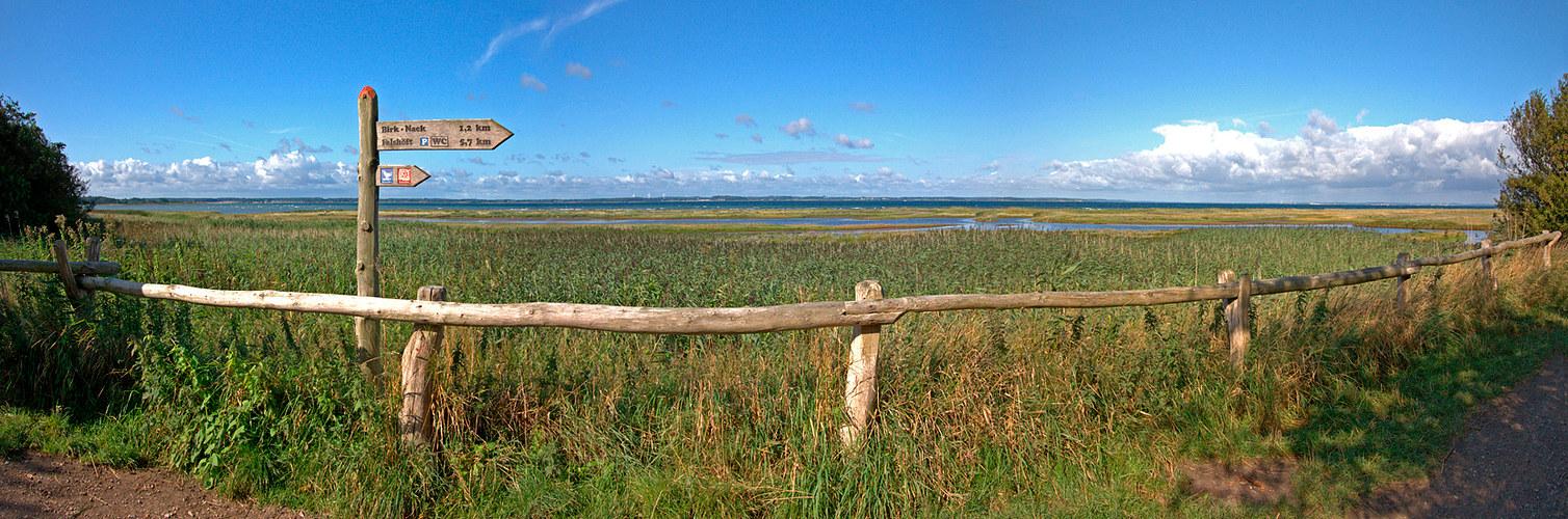 Blick auf die Geltinger Bucht