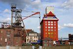 Blick auf die Hansa Mühle