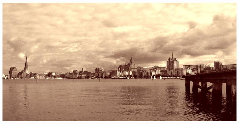 Blick auf die Hansestadt