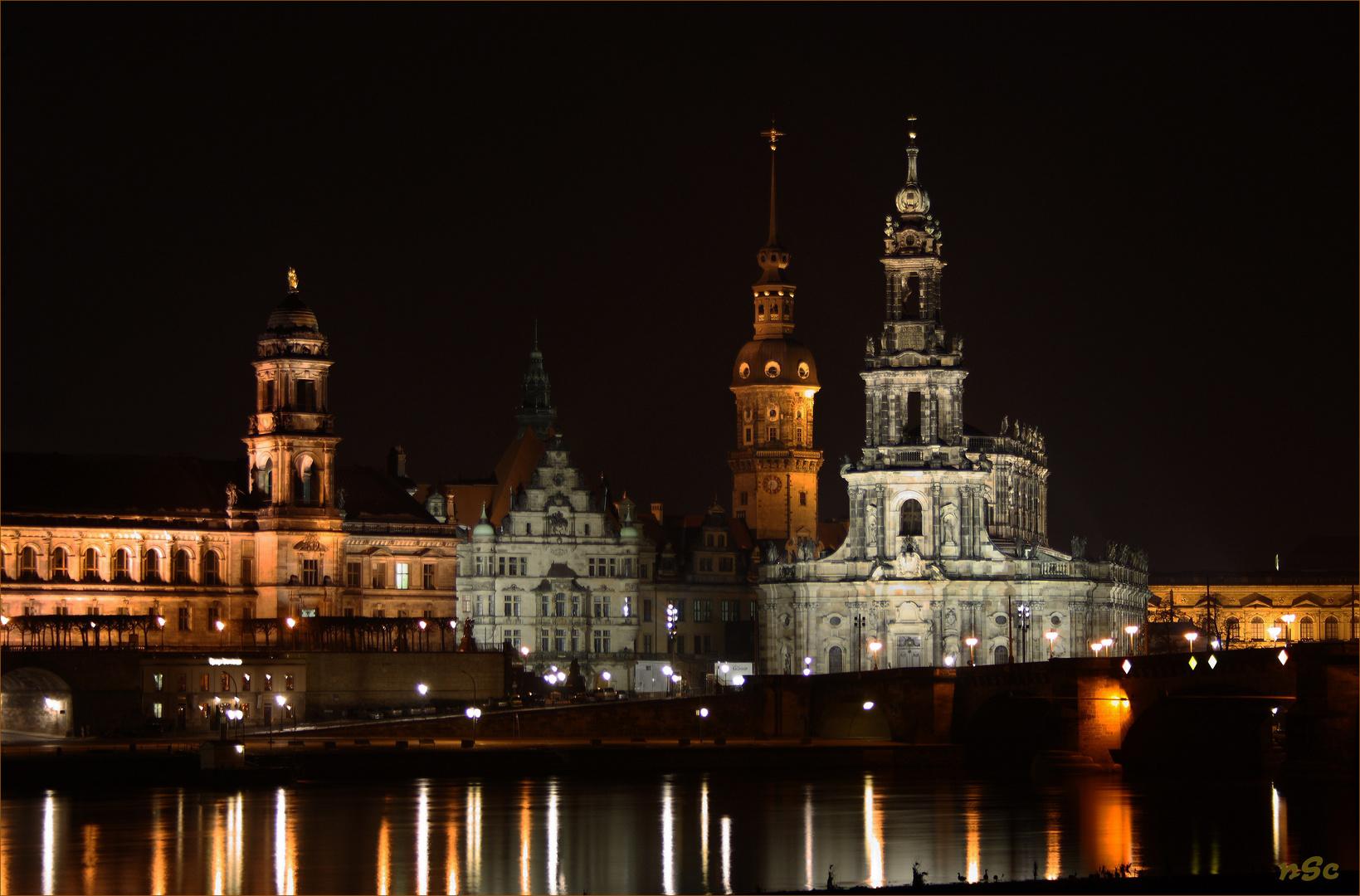 Blick auf die Hofkirche