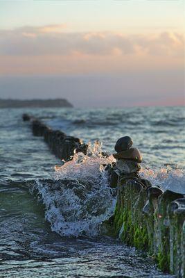 Blick auf die Insel des Hedin