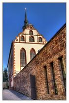 Blick auf die Klosterkirche
