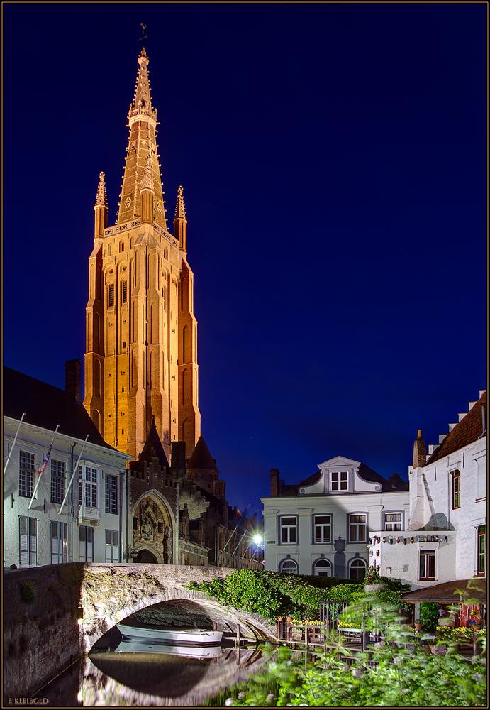 Blick auf die Liebfrauenkirche