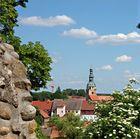 Blick auf die Marienkirche