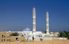 Blick auf die Moschee von Sur
