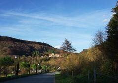 Blick auf die Römerberg-Klinik in Badenweiler Südschwarzwald