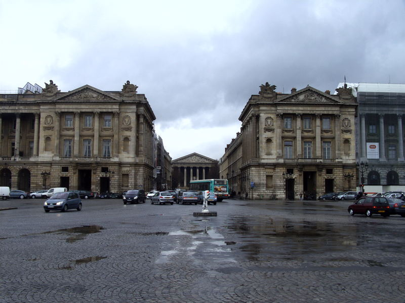Blick auf die Rue Royale