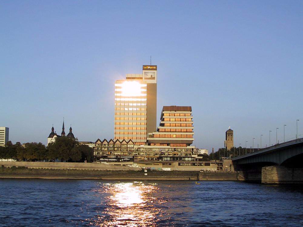 Blick auf die Schäl Sick, Köln