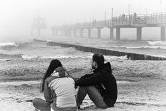 Blick auf die Seebrücke in Zingst