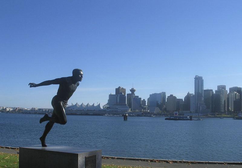 Blick auf die Skyline von Vancouver