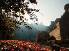 Blick auf die Spitze des Montserrat und dem Kloster (neu bearbeitet)