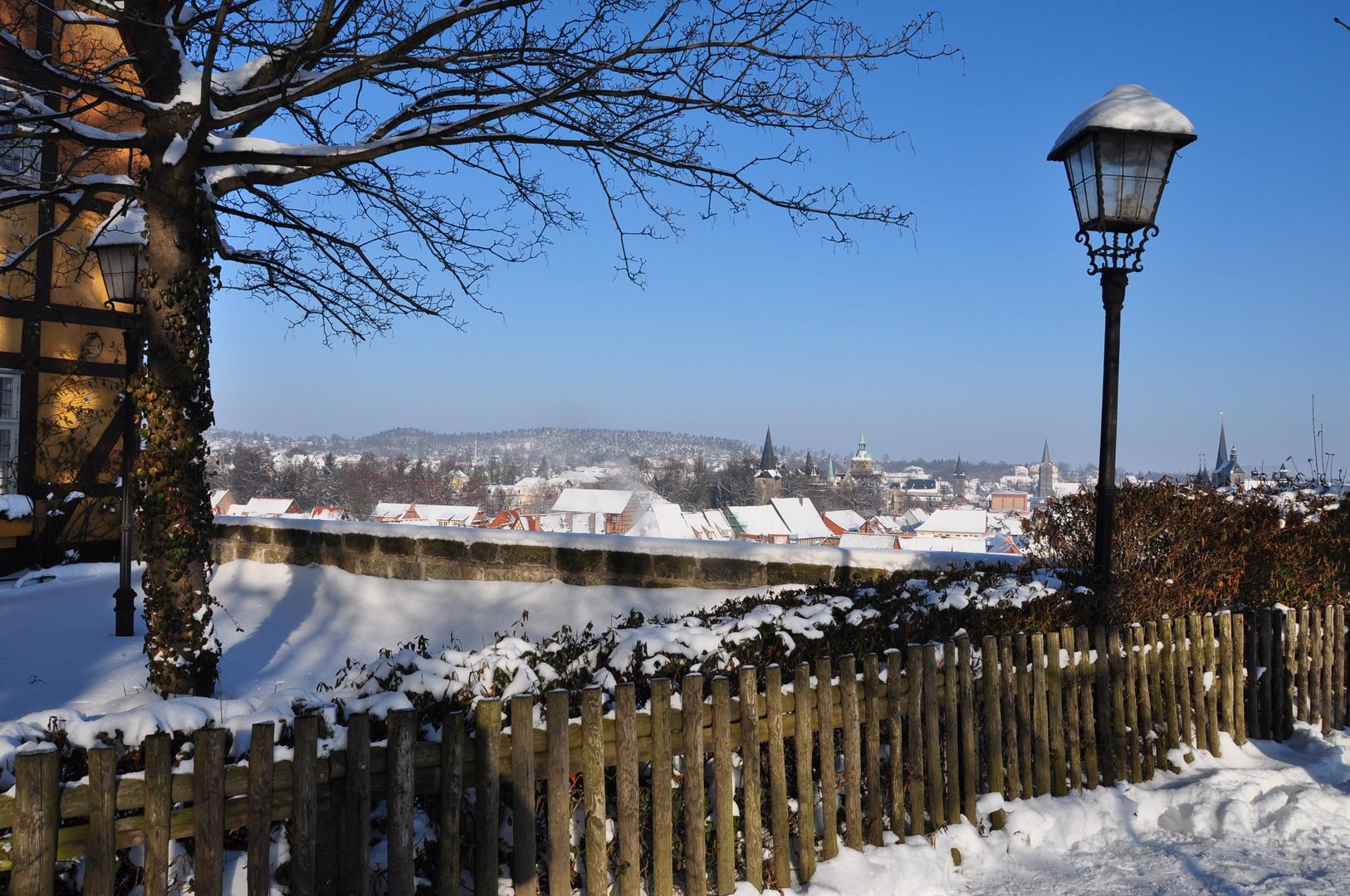 Blick auf die Stadt vom Dom aus