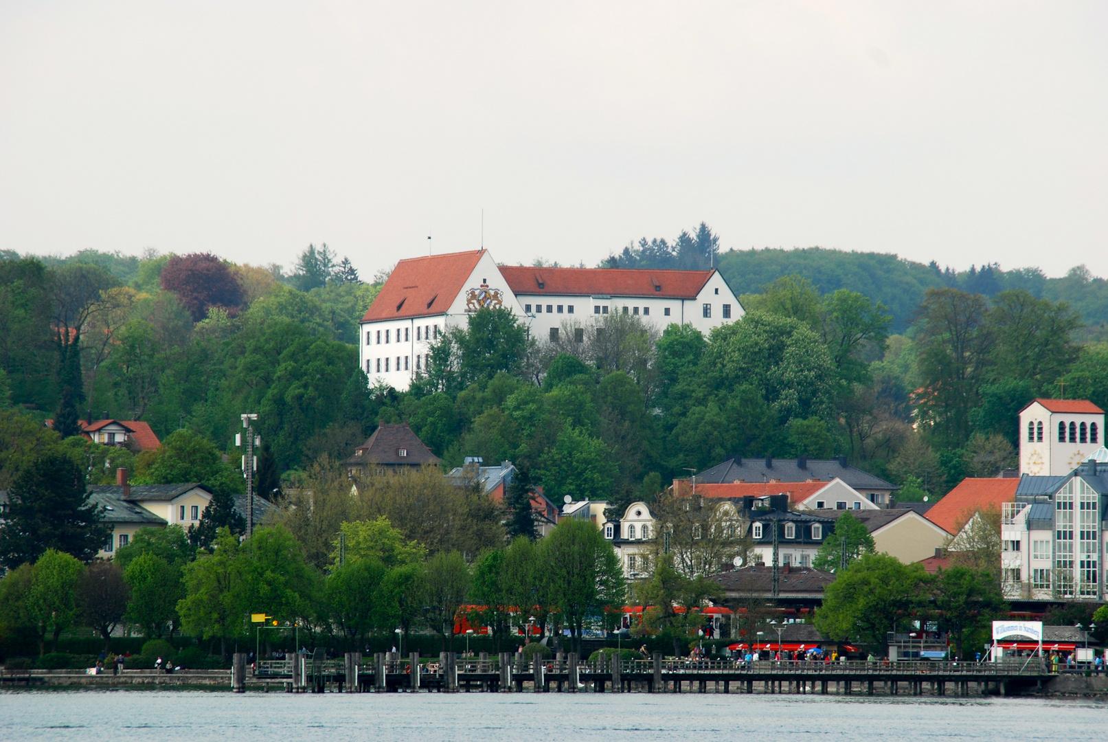 Blick auf die Uferpromenade