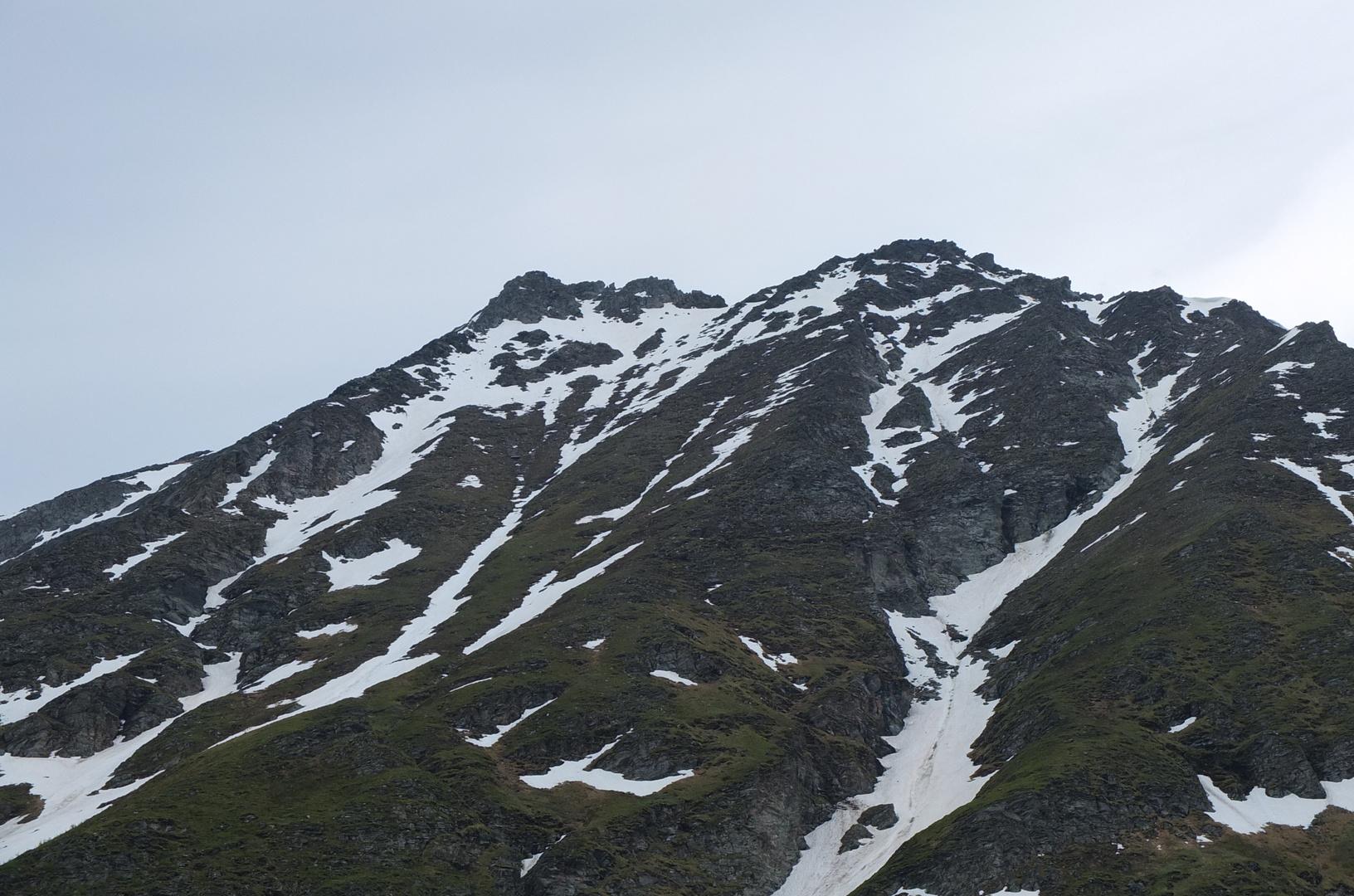 Blick auf die Wandspitze (2623m)