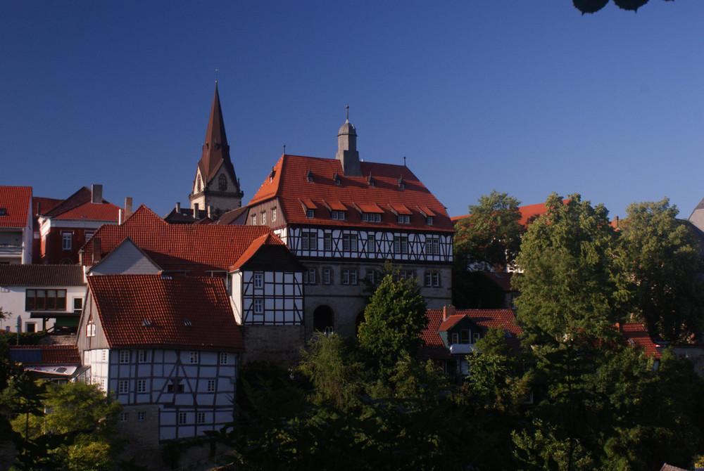 Blick auf die Warburger Neustadt