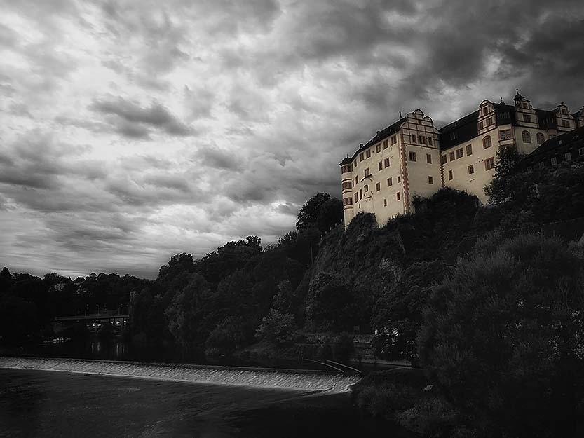 Blick auf die Weilburg Lahn