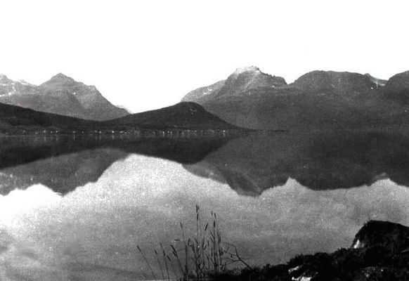 Blick auf die Westeralen, Norge, 1967
