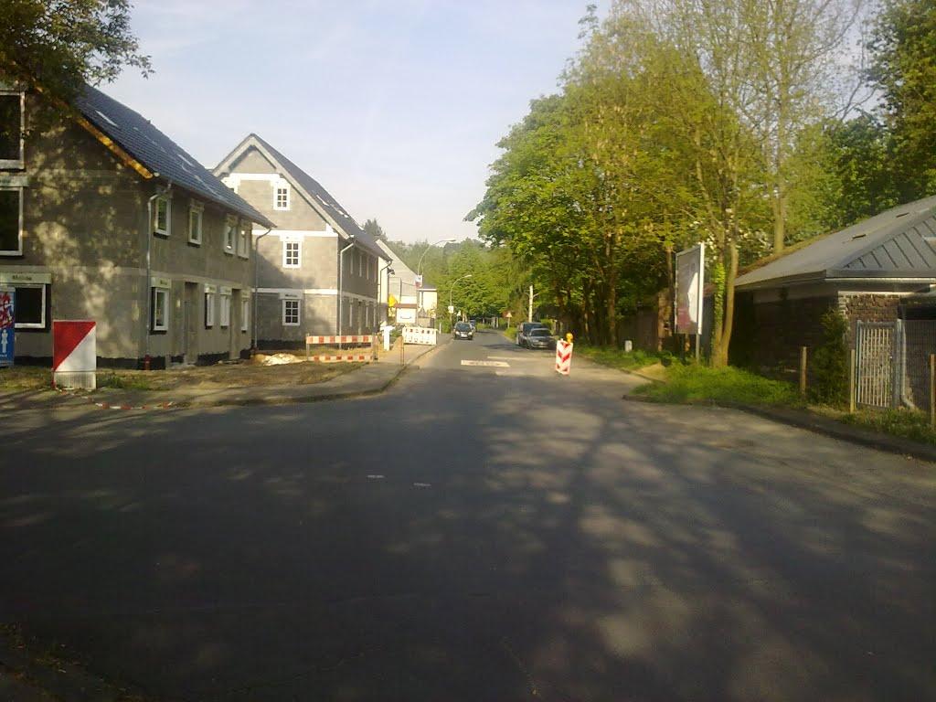 Blick auf Donrather Straße. Sonntag, 04. Mai 2014