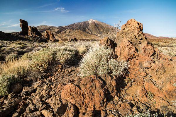 Blick auf El Teide