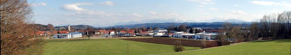 Blick auf Feldkirchen