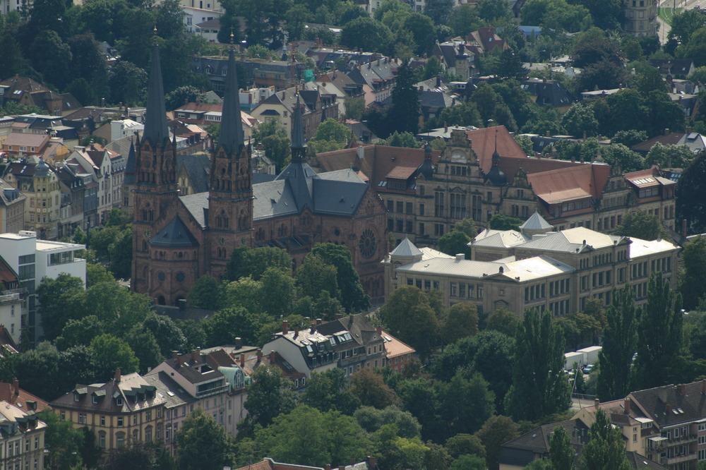 Blick auf Freiburg
