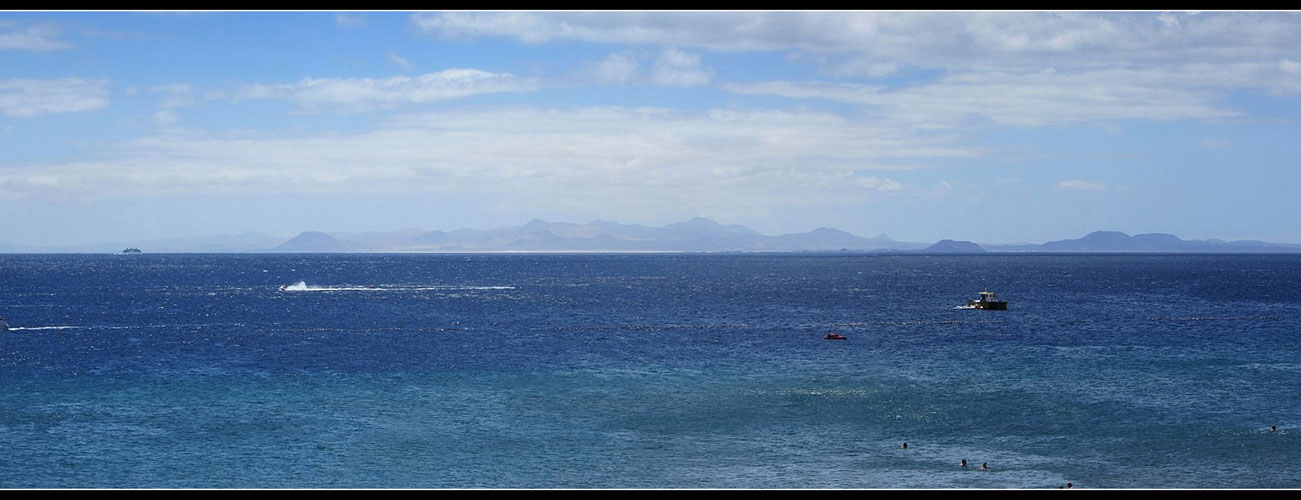 Blick auf Fuerteventura