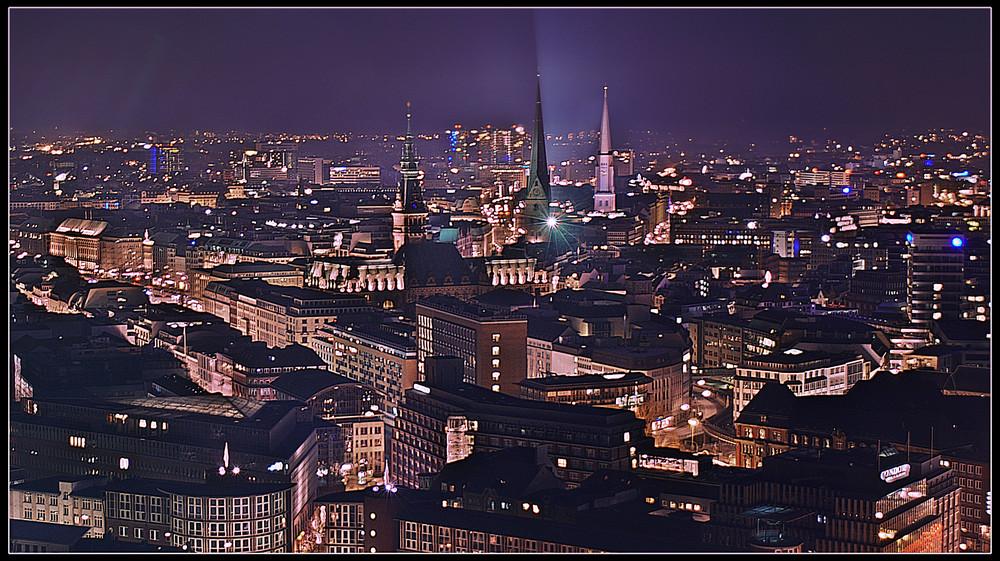 Blick auf Hamburg 2