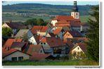 Blick auf Helmershausen von meinem Haus aus (Vistas a Helmershausen de mi casa)
