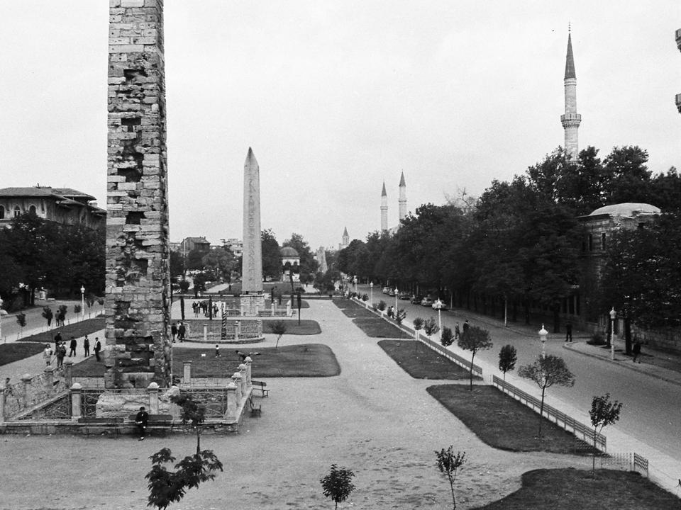 Blick auf Hippodrom Istanbul 1967