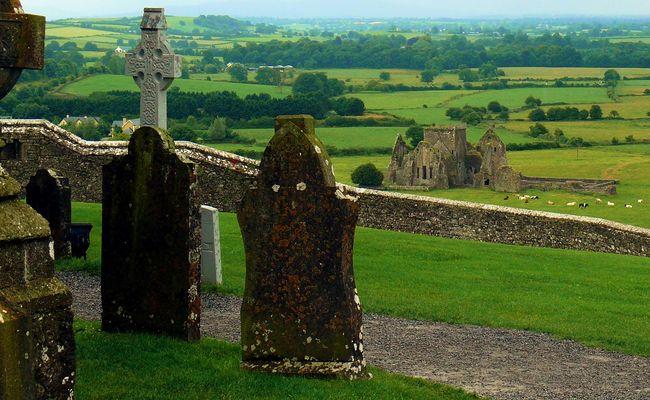 Blick auf Hore Abbey