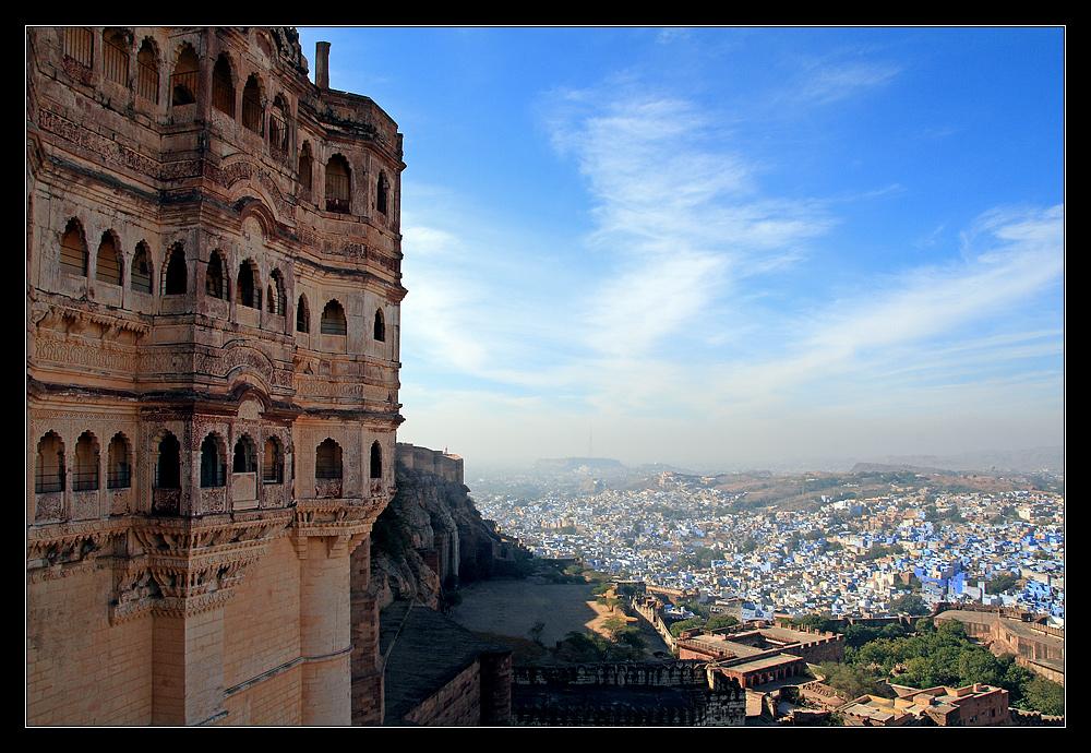 Blick auf Jodhpur