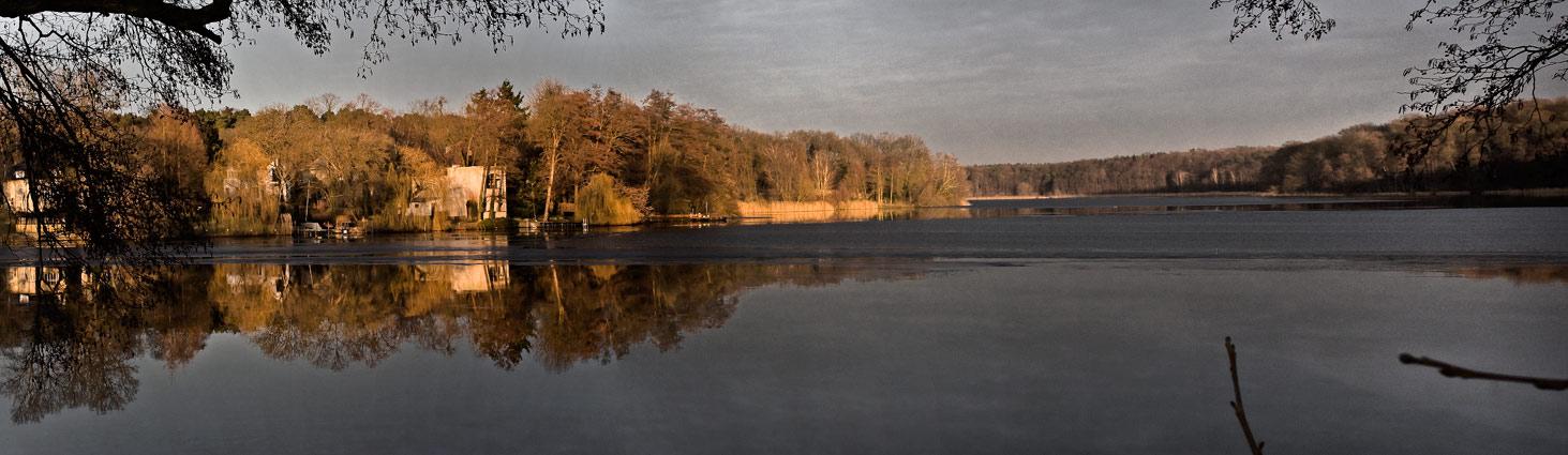 Blick auf Jungfernsee - Zwischen Berlin und Potsdam