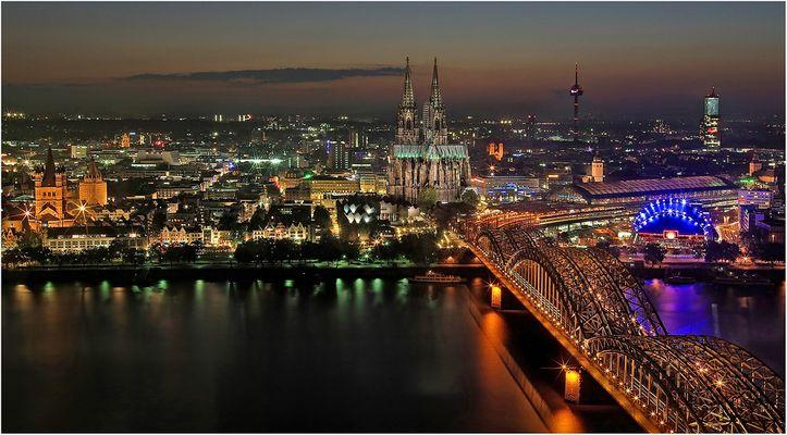 """"""" Blick auf Köln """""""
