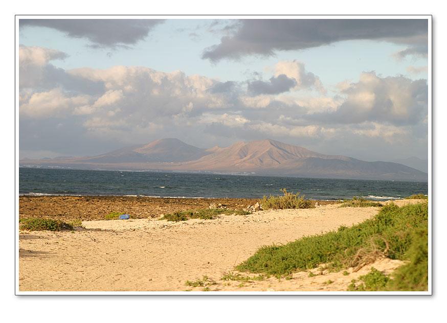 Blick auf Lanzarote