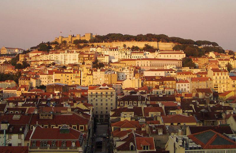Blick auf Lissabon