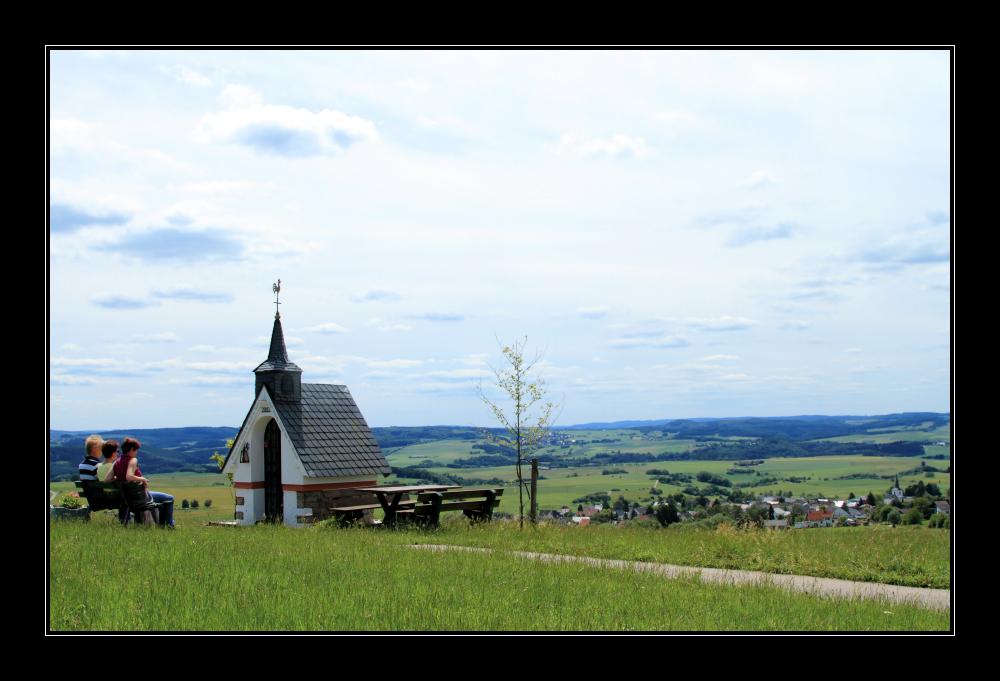 Blick auf Lommersdorf