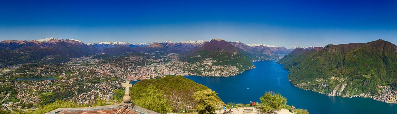 Blick auf Lugano2
