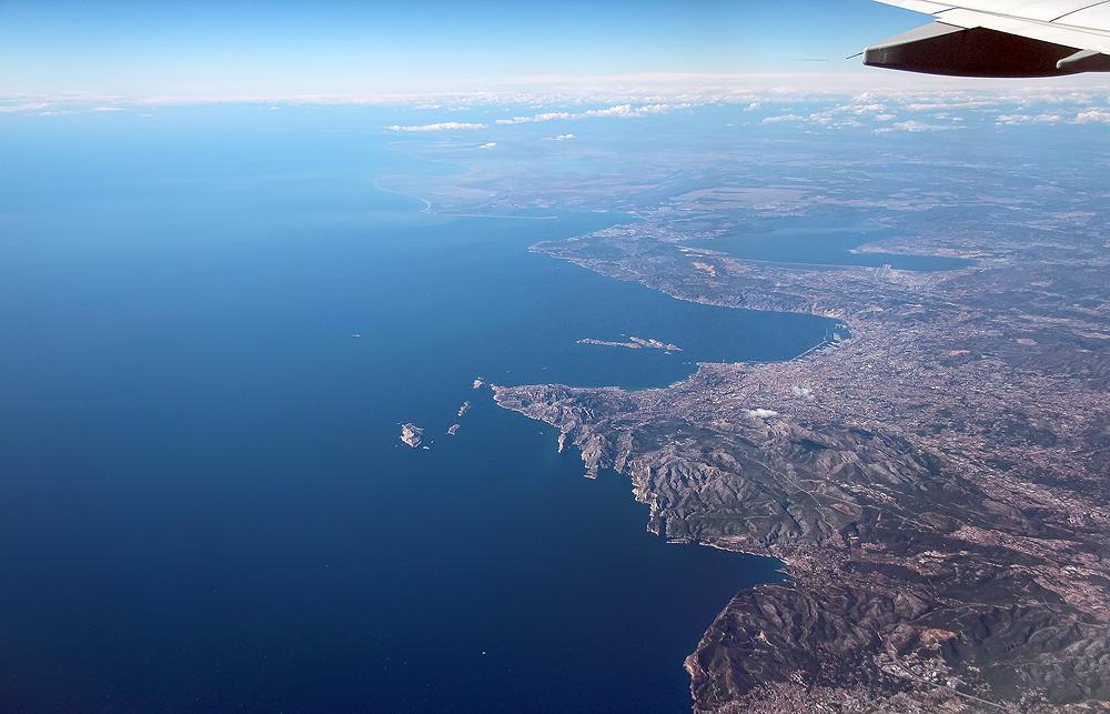 Blick auf Marseille