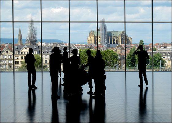 Blick auf Metz...