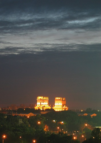 Blick auf Minsk