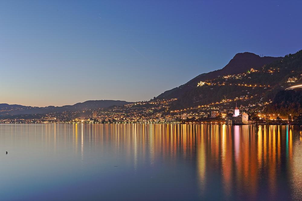Blick auf Montreux