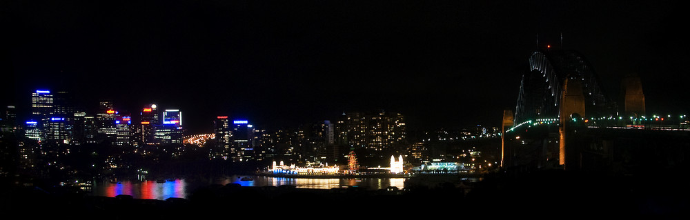 Blick auf North Sydney