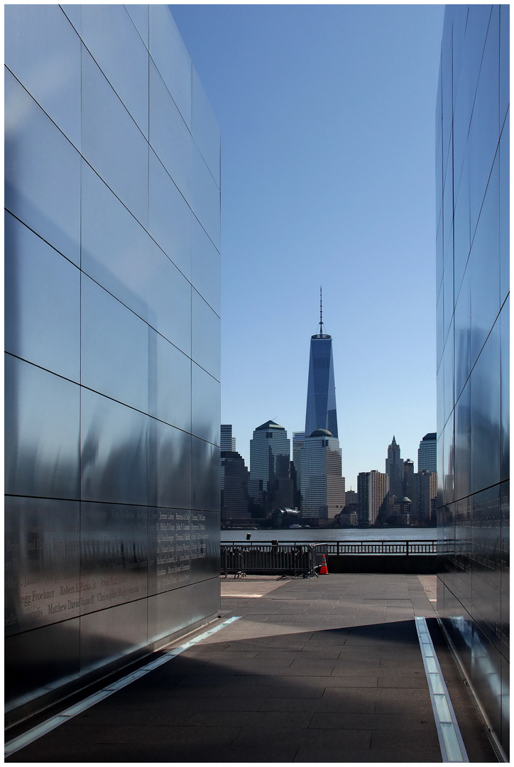 Blick auf One World Trade Canter