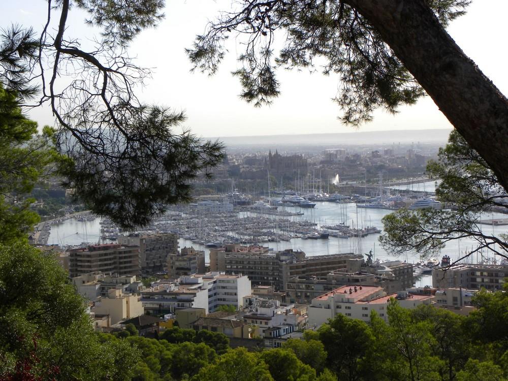 Blick auf Palma vom Schloss Bellver