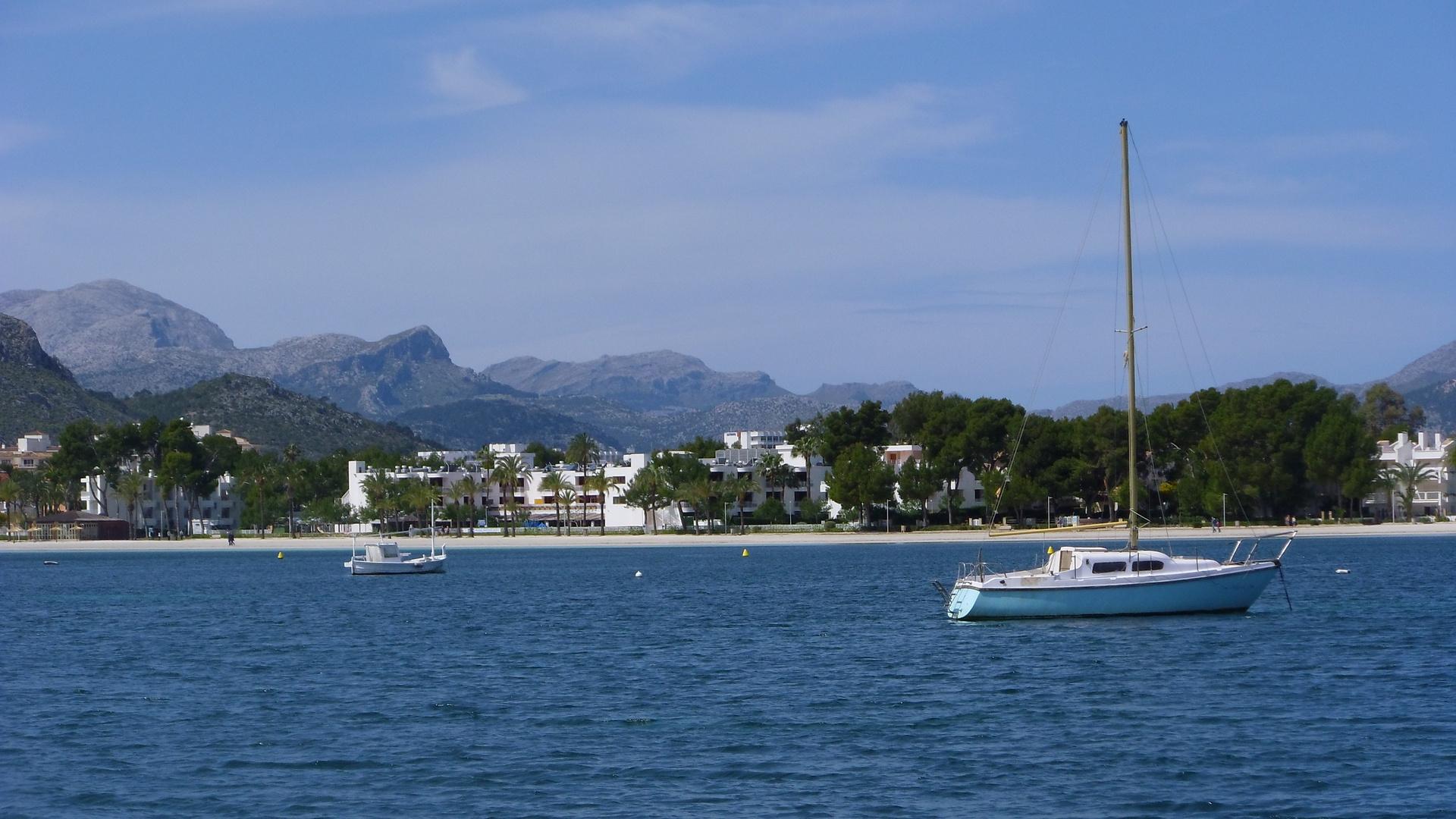 Blick auf Porto Alcudia