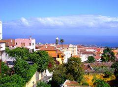Blick auf Puerto de la Cruz